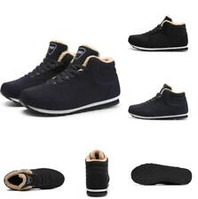 New Men's Sport Warm Athletic High Top Sneakers Running Breathable Shoes Winter