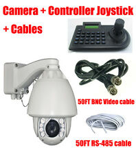"IR CCTV PTZ camera + controller Joystick system 1/3"" SONY 700TVL 30X zoom 35°/s"