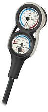 TUSA 3-er Konsole SCA-360E Tiefenmesser Finimeter Kompass Thermometer Console