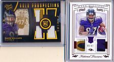 MAXX WILLIAMS 2015 National Treasures RUBY Patch / Glove & Black Gold Quad Patch