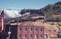 GEORGETOWN LOOP Railroad Steam Engine Locomotive CO Original Photo Slide