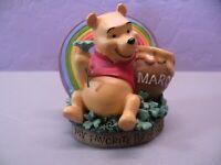 Disney Winnie the Pooh March Perpetual Calendar Danbury Mint Figurine
