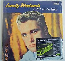 CHARLIE RICH  Lonely Week Ends US LP Sundazed - NEUF- Memphis SUN - Lee Lewis