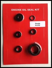 Honda XL250 Oil Seal Kit for Engine! 6pc 1972 1973 1974 1975 1976 Motorcycle 250