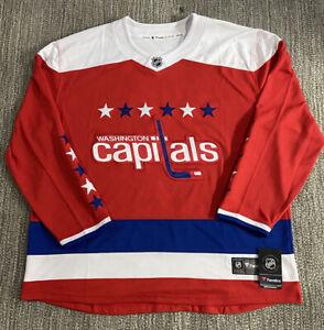 NWT Fanatics Washington Capitals NHL Red Alternate Jersey 5XL