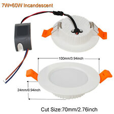 Recessed LED Ceiling Light Fixture Downlight Bulb 7W 9W 12W 18W 24W 30W Lamp