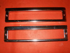 NOS 1962 Chevrolet Chevy II (only) pair parking light bezels