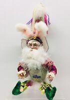 "Mark Roberts Easter Egg Fairy 12 "" Figurine / Bunny / Santa"