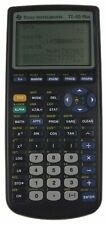 Texas Instruments TI-83 Plus Calculator Math Science Graphing Cover Tested Clean