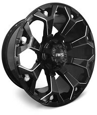 4 New Wheels 20x10 -12 IWS 8025 Gloss Black Machined 6x135 6x139.7 Rims SET