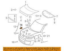 Scion TOYOTA OEM 08-15 xB Hood-Support Prop Rod Clamp Clip Holder 5345212100
