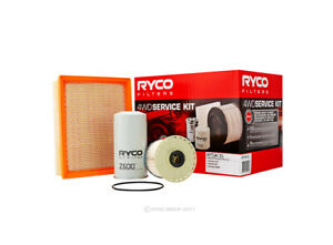 Oil Air Fuel Filter Service Kit Ryco RSK6 Suitable for HOLDEN ISUZU RODEO COLORA