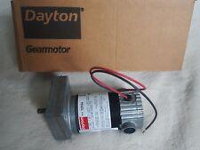 DAYTON 1LPV5A DC Gearmotor 12VDC, Nameplate RPM: 24, Max. Torque: 40.0 in.-lb