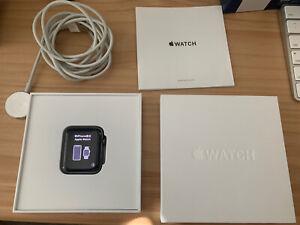 Apple Watch Edition Series 3, GPS+Cellular, Grey Ceramic+Sapphire Crystal