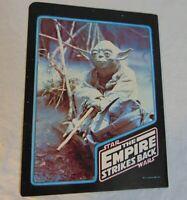 Star Wars Vintage School Portfolio Folder 1980 Yoda The Empire Strikes Back