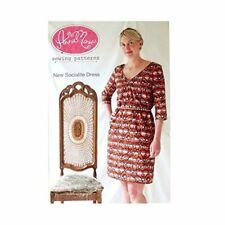Anna Maria Horner Socialite Dress Sewing Pattern