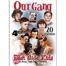 Our Gang East Side Kids 4-DVD Box Set NEW factory sealed 20 Features
