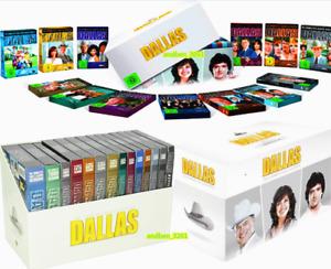 Dallas:Complete Series Seasons 1–14, Plus 3 movies! (55-Disc,DVD) US Seller New!
