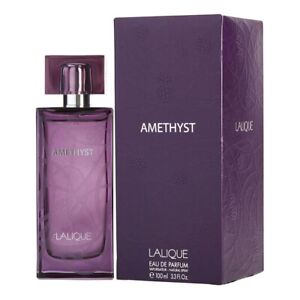 LALIQUE AMETHYST for WOMEN * 3.3/3.4 oz (100ml) EDP Spray * NEW & SEALED