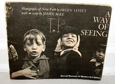 Helen Levitt A Way Of Seeing Original 1965 Gravure ED
