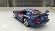Dodge Viper GTS-R BLU KINSMART auto giocattolo modello 1/36 scala pressofuso