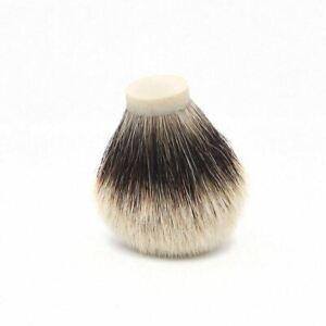 20 21 22 24mm Finest Level Badger Hair Shaving Brush Knot Men DIY Wet Shave Set