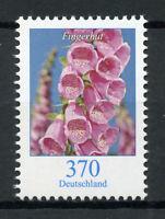 Germany Flowers Stamps 2019 MNH Definitives Foxgloves Flora 1v Set