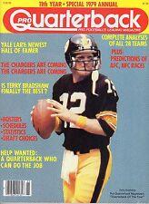 1979 Pro Quarterback 11th Annual Football magazine, Terry Bradshaw, Steelers ~VG