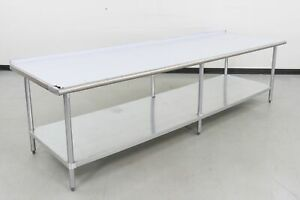 Advance Tabco FAG-3610-TA-33-MPF Stainless Steel Work Table (Scratch & Dent)