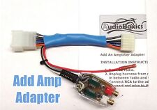 Add An Amp Amplifier Radio Stereo Adapter Interface for some Subaru Vehicles