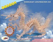 3d wood Dragon Calender