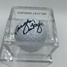 Vaughn Taylor Signed Autographed Golf Ball PGA With JSA COA