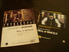 "HELL ON WHEELS 2 Emmy ads Common, Anson Mount, ""Consider It Riveting"""