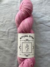 """Yarn - Ritual Dyes""""Portulaca'  Maiden in Pink (bm)"""