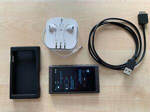Sony Walkman NW-A35, Black 16 GB MP3 Bluetooth NFC Touchscreen Audiophile
