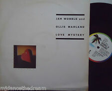 "JAH WOBBLE AND OLLIE MARLAND ~ Love Mystery ~ 12"" Single PS"