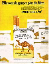 PUBLICITE  1972   CAMEL  cigarettes 1