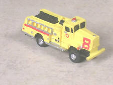 N Scale 1980 Yellow FWD Airport Crash Fire Truck #8