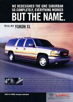 Vintage Advertisement Ad A34-B 2008 GMC Yukon Hybrid innovation
