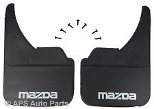 MUDFLAPS FOR MAZDA MODELS UNIVERSAL FIT MUD FLAP 121 323 626 2 3 5 6 MX5 RX8 ETC