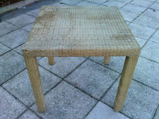 table haute rotin jean michel FRANK ECART INTERNATIONAL ? 80cm/80cm h:76 rattan