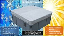 Hot Tub Cover All-Weather Protector - Spa Cover Harsh Weather Guard