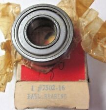 1 new old unused USA NDH Delco 7502-16 Ball Bearing Bore=16mm OD=35mm Width=11mm