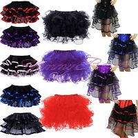 Skirt Frilly Tutu Fancy Dress Burlesque Costume Womens Plus Size 6-28 Hen Party