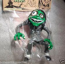 RARE Metallica Kirk Hammett TOY figure Green Horror Business SEALED! NEW Zombie