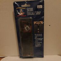 Disney Mickey Mouse Secure Luggage Strap Red Mickey's World NEW SEALED MINT
