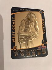 2012 AFL TEAMCOACH STAR WILDCARD Nic Naitanui SW17 West Coast