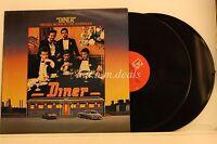 """Dinner -  Original Motion Picture Soundtrack - Elektra Records 2 LP 12"""" (VG)"""