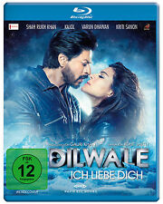 Dilwale - Ich liebe Dich (Shah Rukh Khan) Bollywood Blu-ray Disc NEU + OVP!