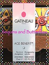 🎀 GATINEAU 🎀 AGE BENEFIT ULTRA-REGENERATING NIGHT ELIXIR 🎀 15ml  🎀 BNIB 🎀